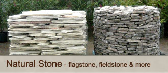 Natural Stone - flagstone, fieldstone & more