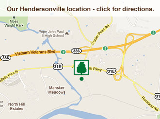 Click for directions to our Hendersonville location.