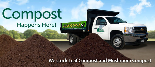 We stock Leaf Compost and Mushroom Compost