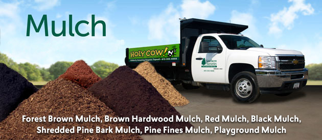 Triple Shred Brown Mulch, Brown Hardwood Mulch, Red Mulch, Black Mulch, Shredded Pine Bark Mulch, Pine Fines Mulch, Playground Mulch