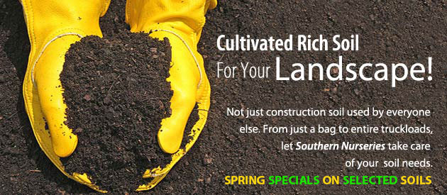 Cultivated rich soil for your landscape.